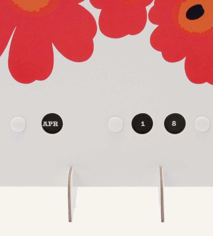 Unikko 万年カレンダー 雑貨 Marimekko マリメッコ ルック公式