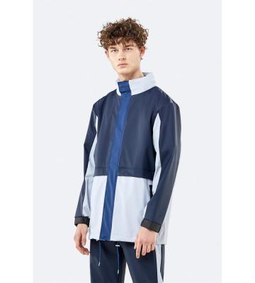 Color Block Track Suit Jacket