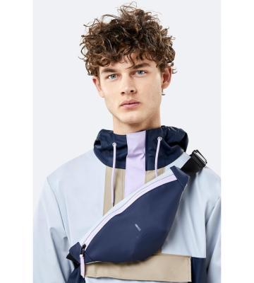 Color Block Bum Bag Mini