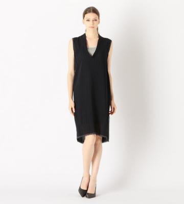 SHEER STRIPEドレス