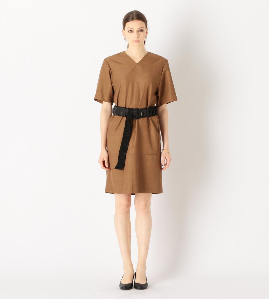 LEGER WOOL DRESS