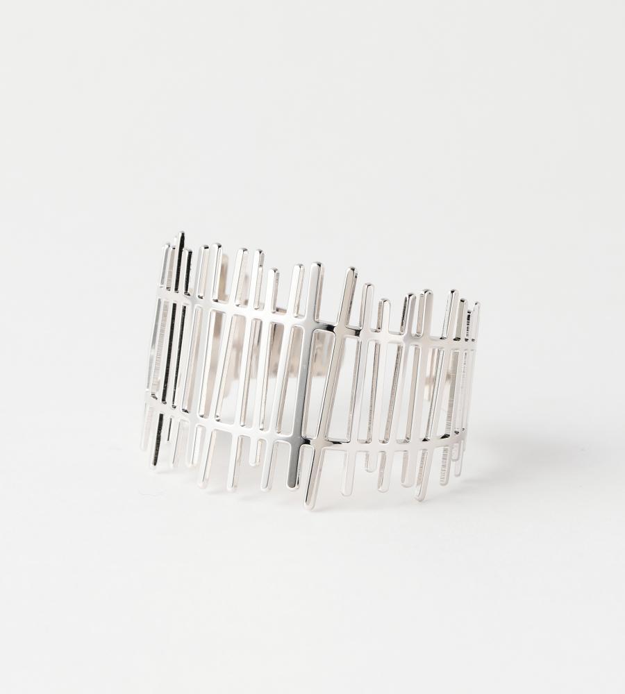 Barriere Bonheur Cuff Silver