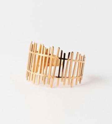 Barriere Bonheur Cuff Gold