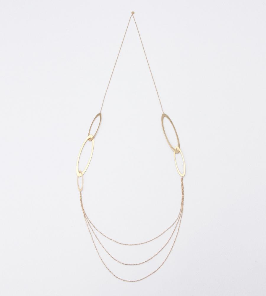 Saturn Bonheur Long Necklace
