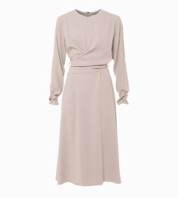 PHILEA BACKSATIN ドレス