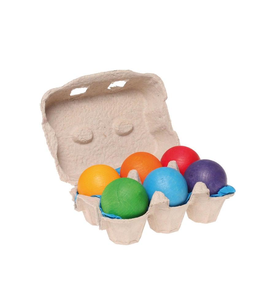 GRIMM'S 6色の木製ボール