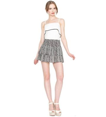 ANAYA TIERED MINI SKIRT