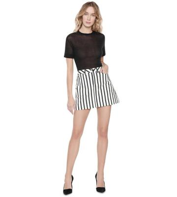 GAIL PATCH POCKET MINI SKIRT