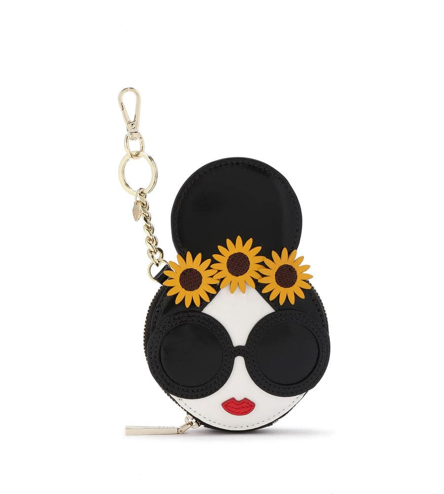 EVY STACEFACE COIN POUCH KEYCHARM