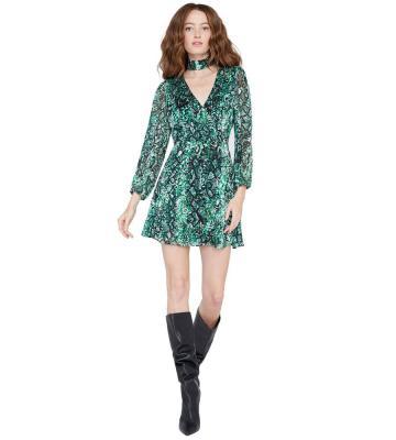 RITA ANIMAL PRINT DRESS
