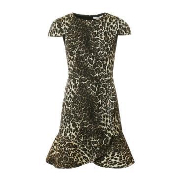 KIRBY RUFFLE DRESS