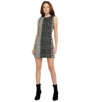 CLYDE PATCHWORK ALINE DRESS