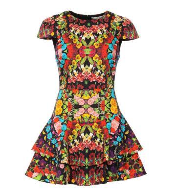 AINSLEY RUFFLE DRESS