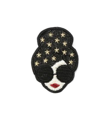 STACEFACE STARS BROOCH