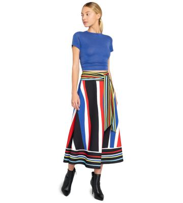 BLAIR FLARE MIDI SKIRT