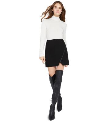 BARBRA ZIP MINI SKIRT