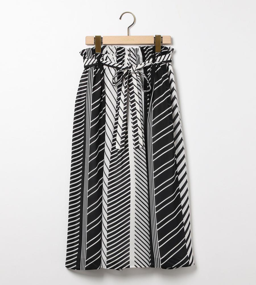 ランダムストライプスカート