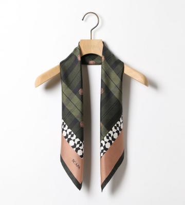 アザミシルクスカーフ