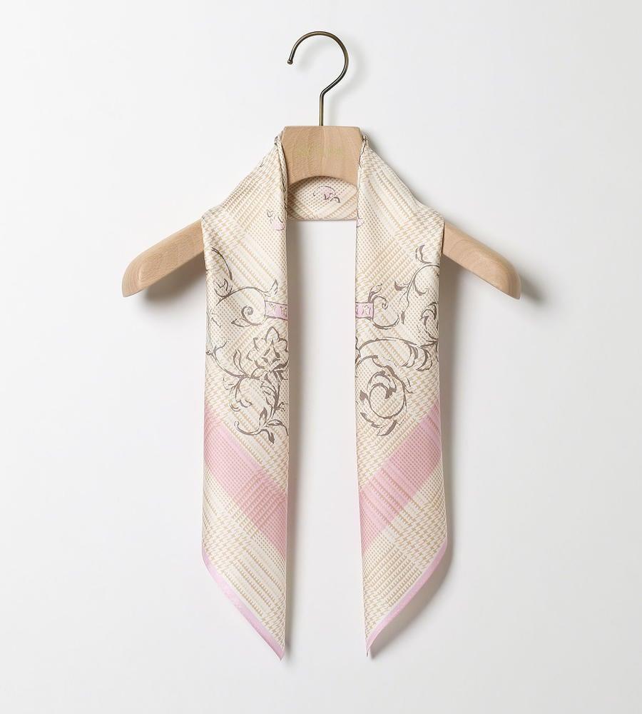 シルクツイルスカーフ