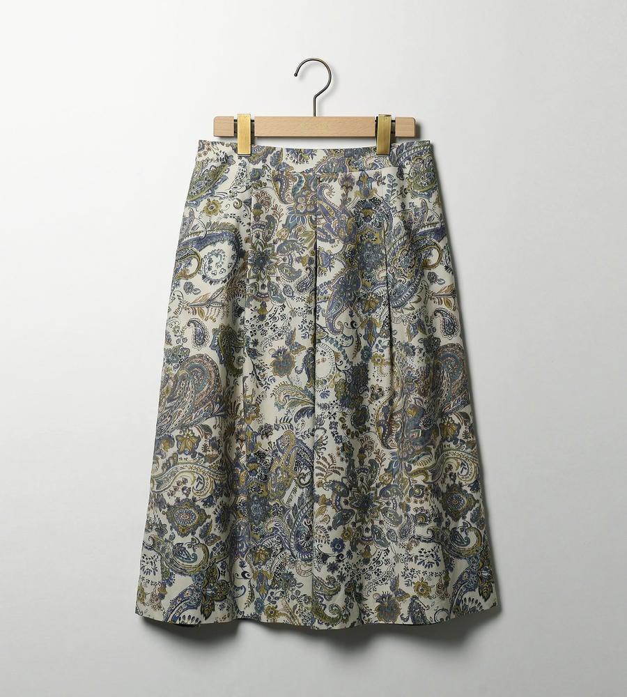 クラシカルペイズリー スカート