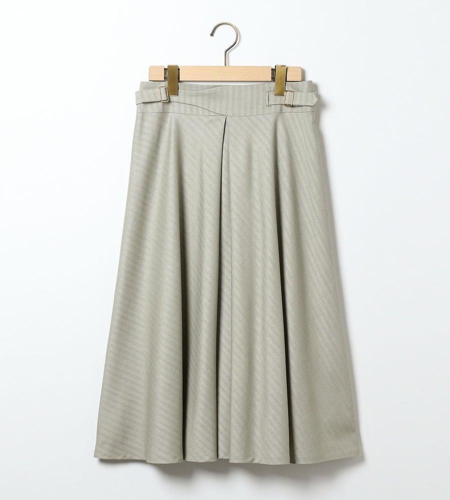 レゾンヘリンボン スカート