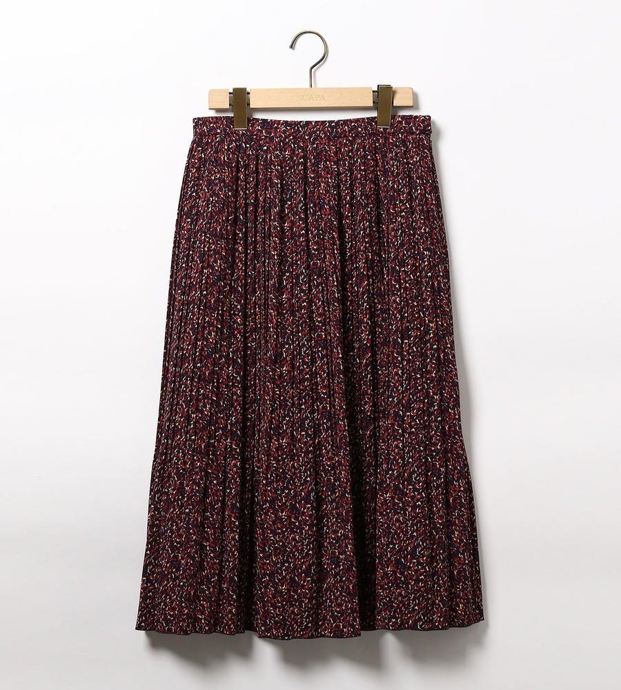 ミステリアスプリントスカート