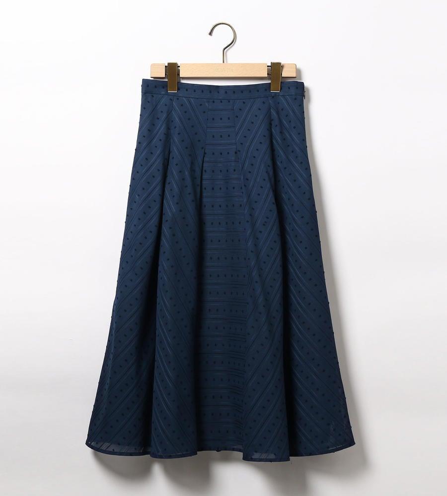ドビーカラミジャガードスカート