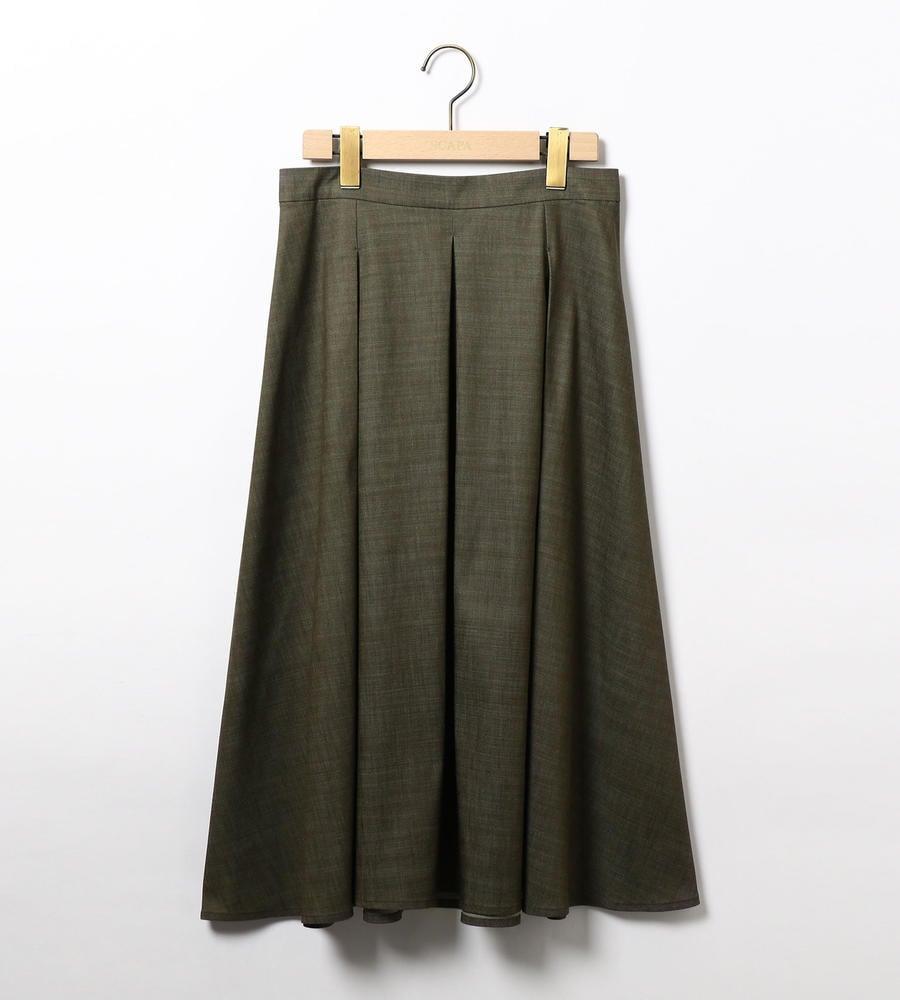 シャンブレーツイルスカート