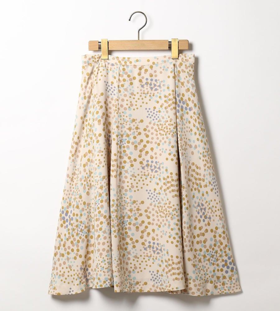 シャンパンドットスカート