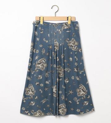 シルクペーズリースカート