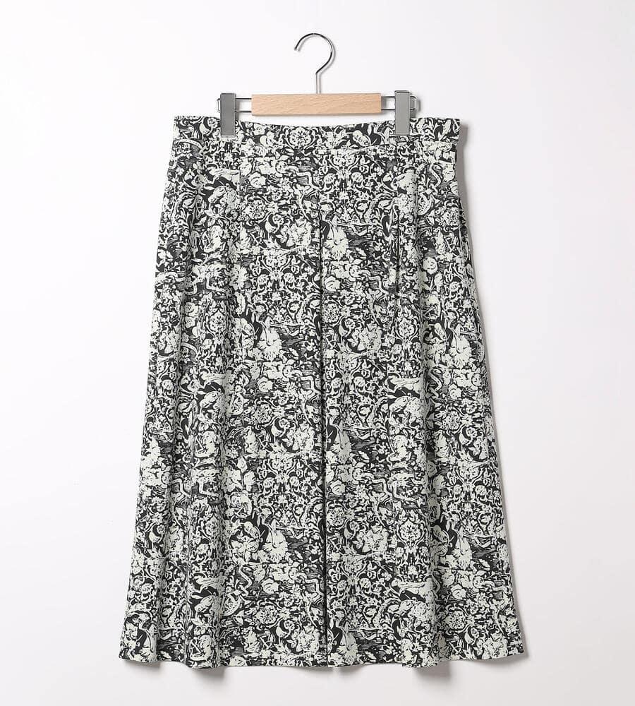 フラワークールスムーススカート
