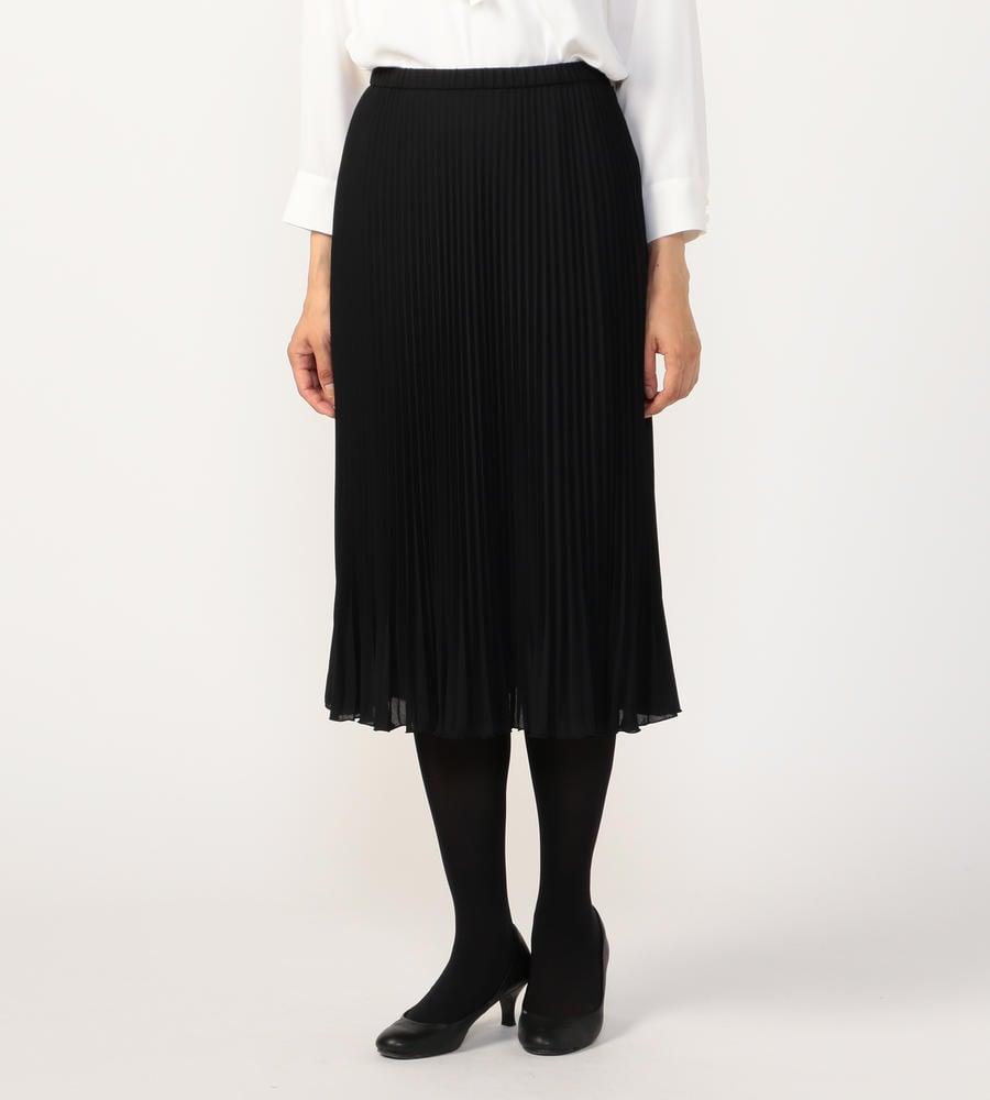 ジョーゼットプリーツ スカート