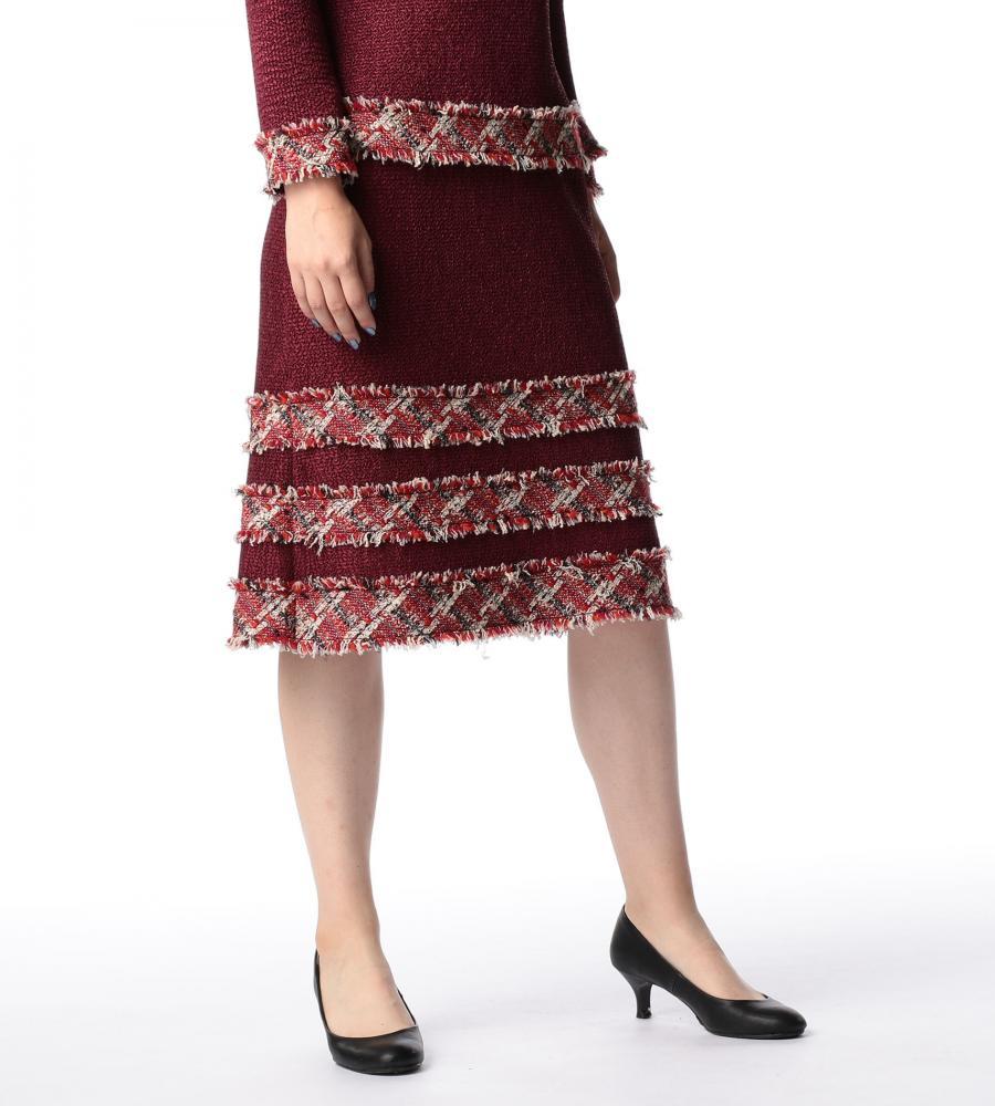 ファンシープリーツ スカート