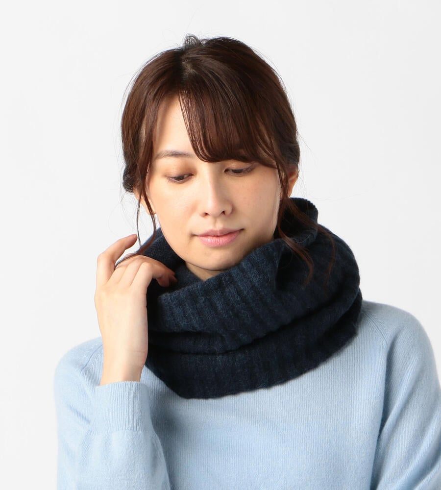 winter tsutsu / baby alpaca & wool