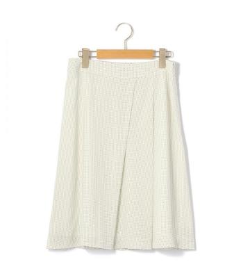 ピンドットツイル スカート