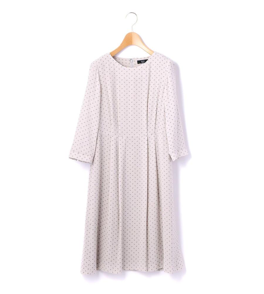ジオメトリックパターン ドレス