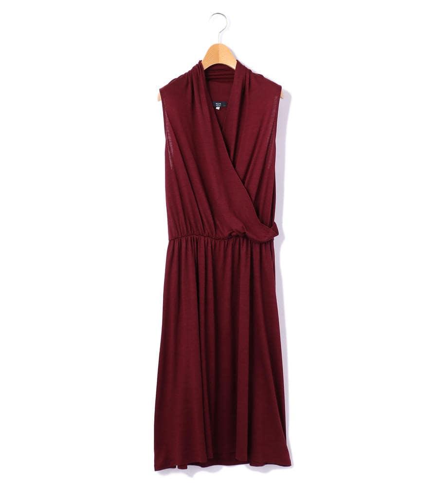 ウール天竺 ドレス