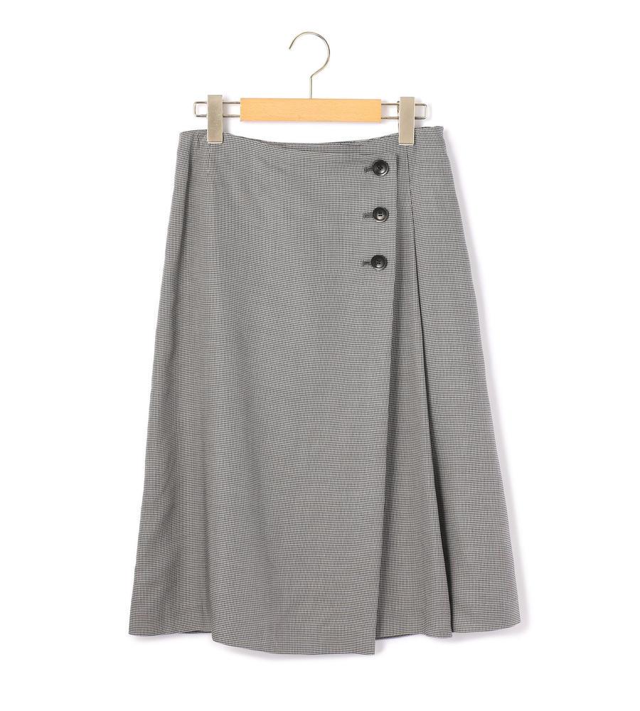 スモールハウンドトゥース スカート