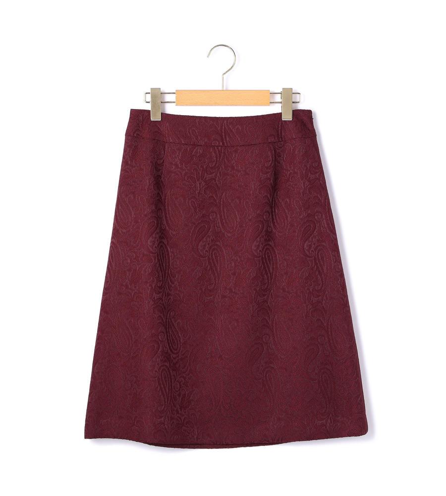 オーナメントジャカード スカート
