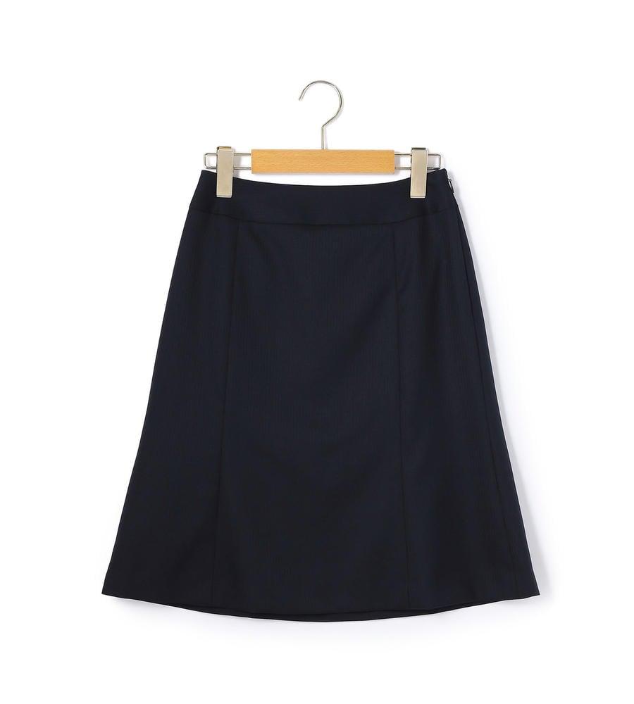 フレッシュシャドーストライプ スカート