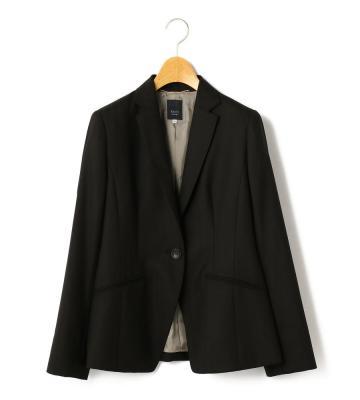ウールへリンボン ジャケット