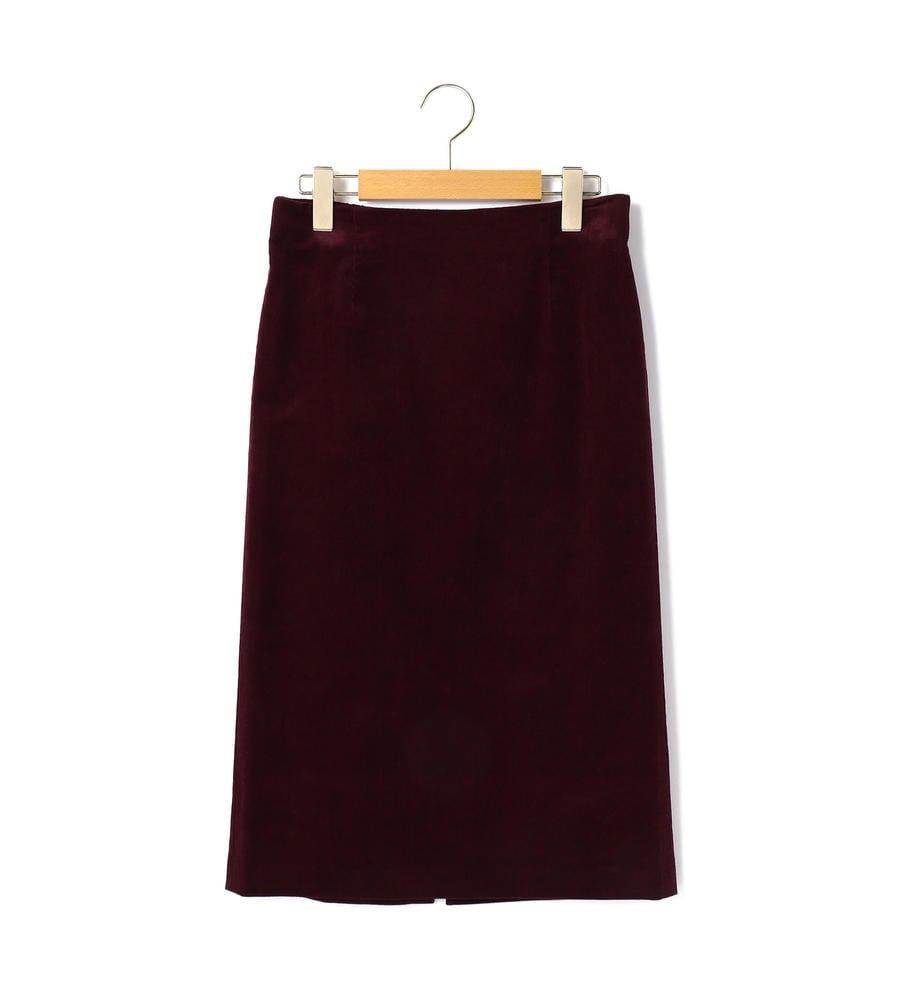 ストレッチコール スカート