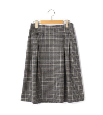 ハウンドトゥースチェック スカート