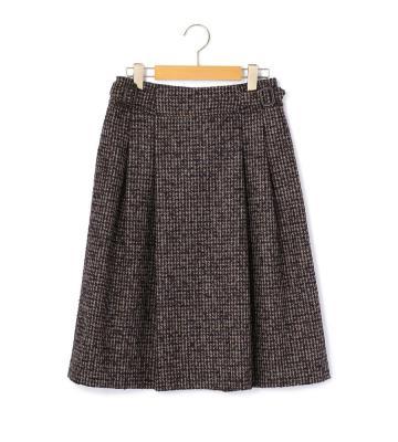 ウールリングツイード スカート