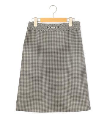 ストレッチチドリ スカート