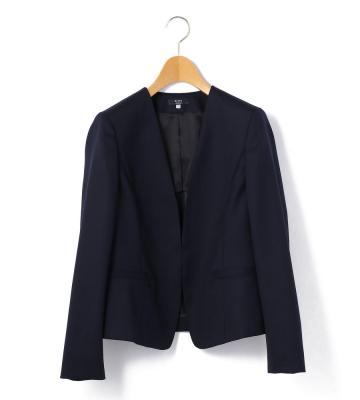 【セット買い対象商品】フレッシュシャドーストライプ ジャケット