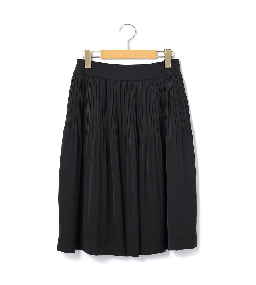 サテンジョーゼット スカート