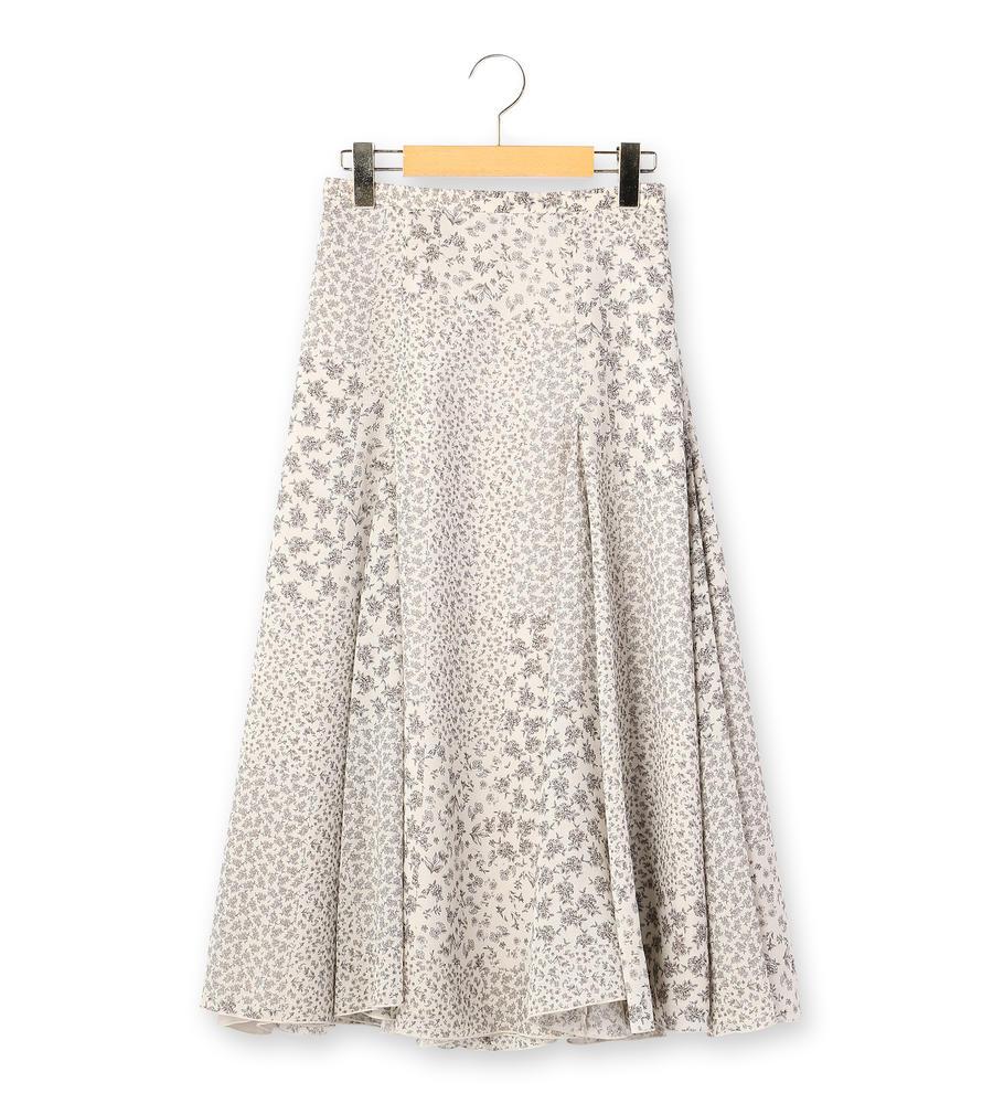 パッチワークプリント スカート