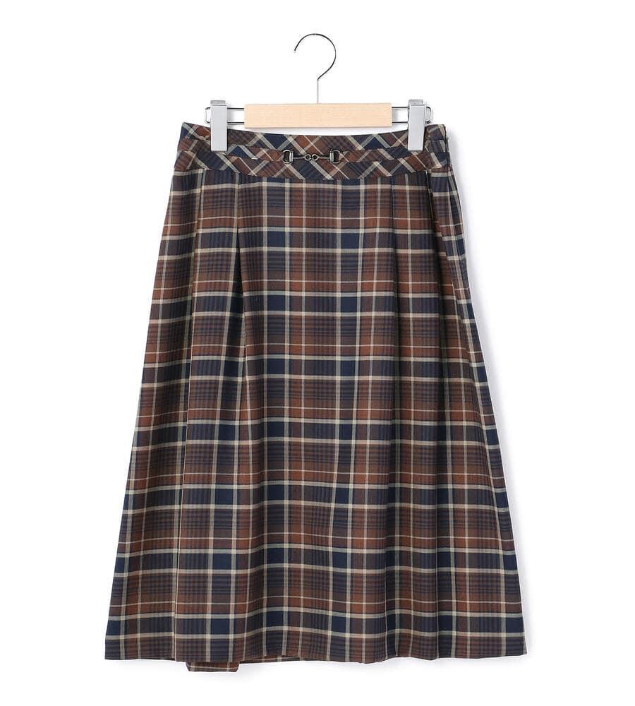 ライトビエラチェック スカート