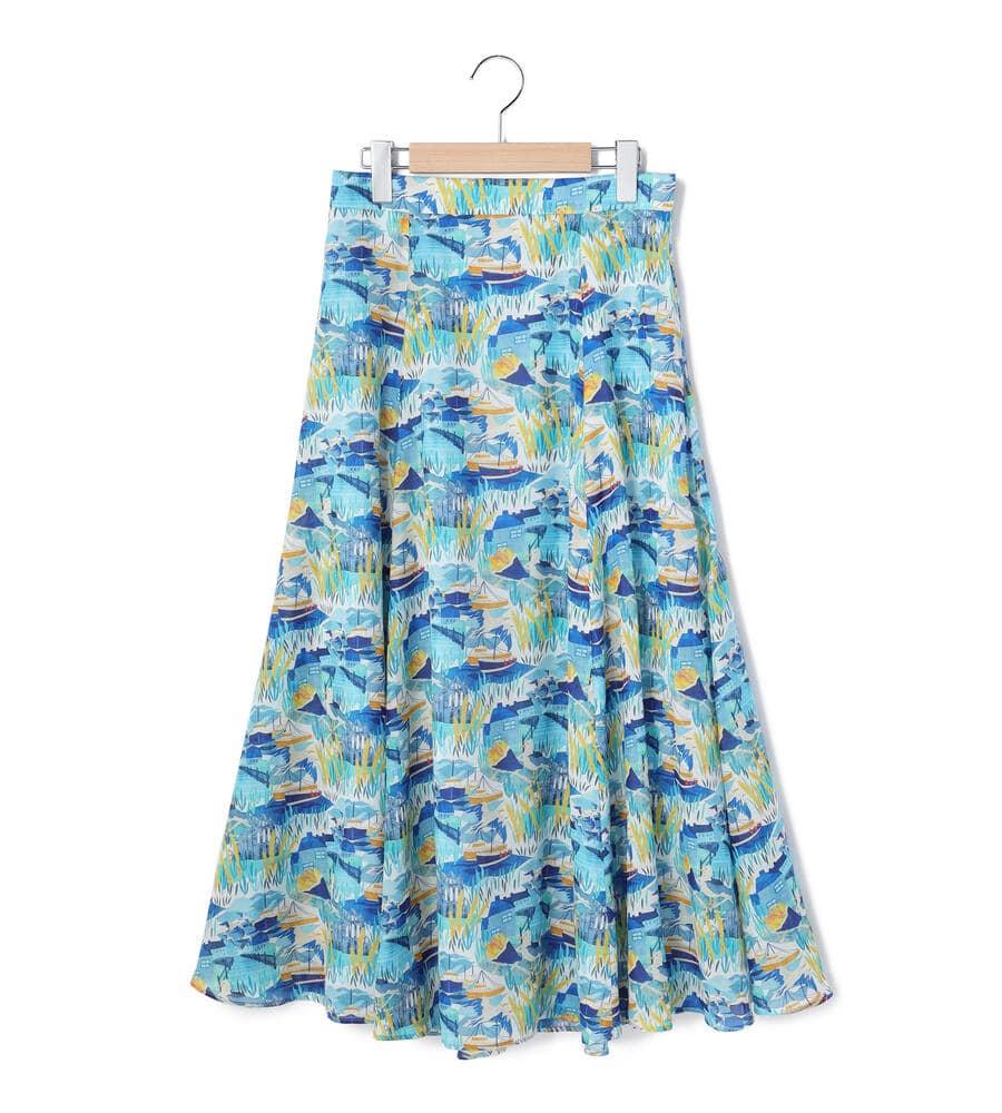 プリント WHITBY  スカート
